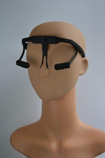 Luke mit der Blickschulungsbrille